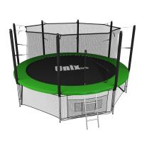 Батут UNIX line 12 ft inside (green)